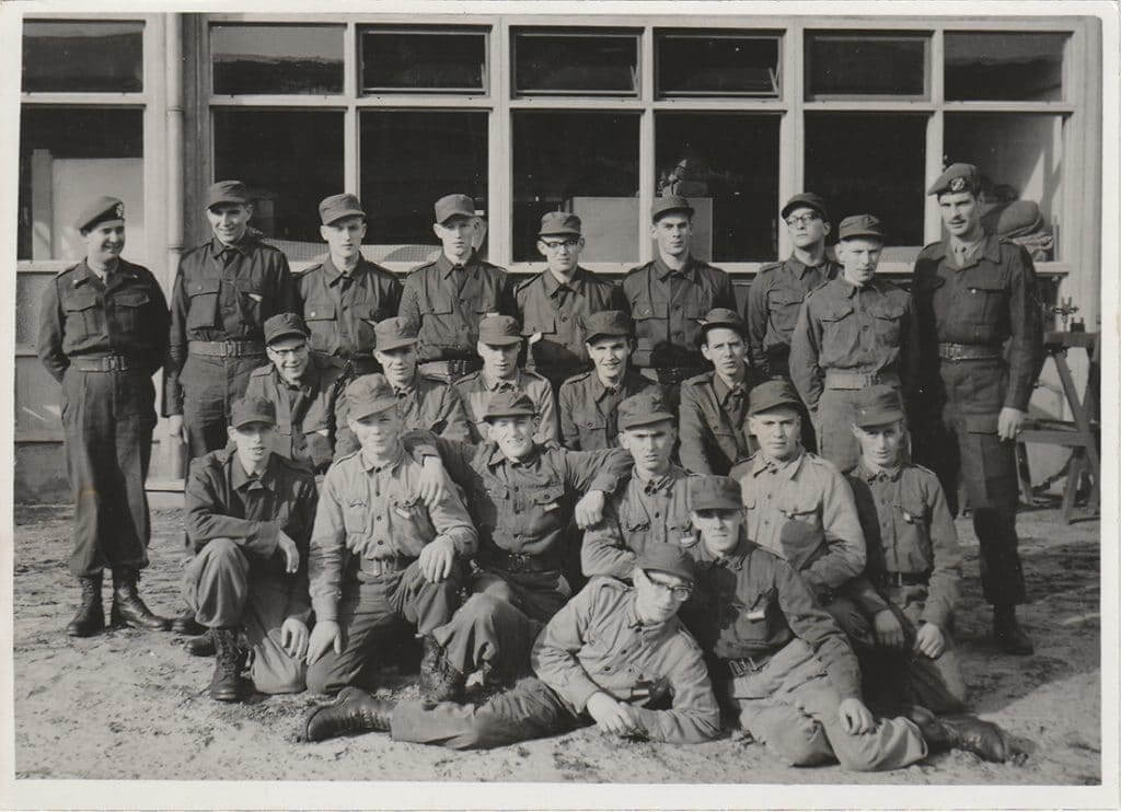 Jaap Schot in militaire dienst